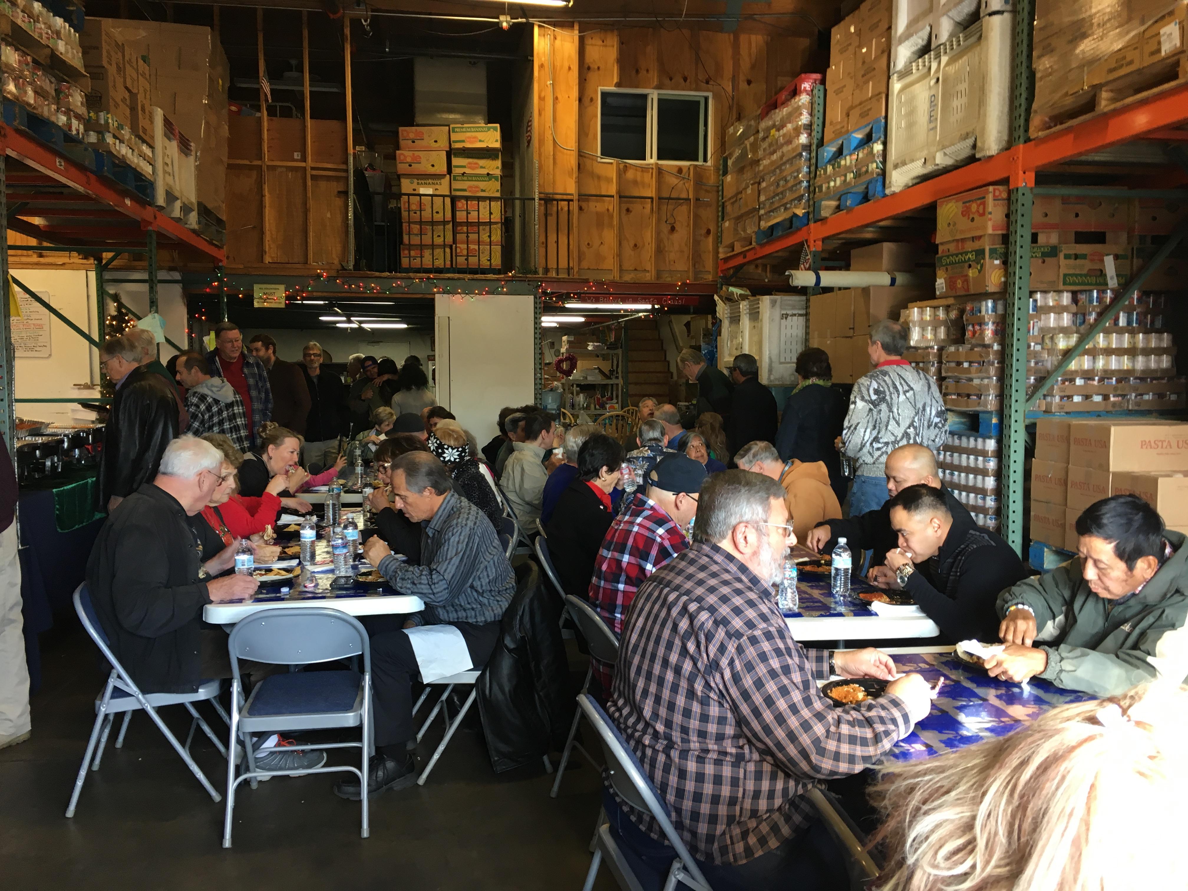 Volunteer lunch